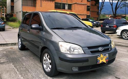 hyundai getz color gris automático