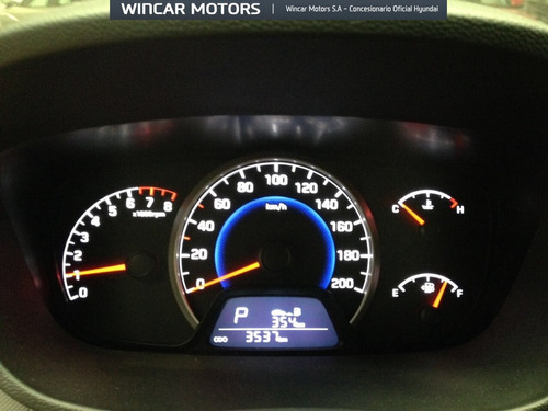 hyundai grand i10 1.2 5 puertas automático 3.500 km 2016