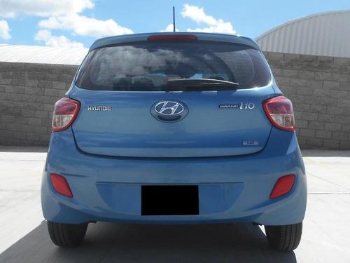 hyundai grand i10 1.3 gl mt 2016 azul