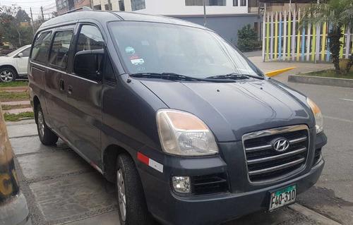 hyundai h-1 2007 gris 4 puertas