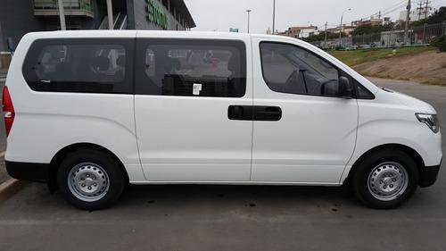 hyundai h-1 mbus 12p 2.5 tdi gl mt - blanco - 2019 - 5p
