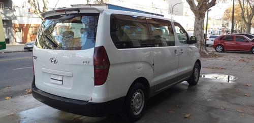 hyundai h-1  mt año 2011 diesel 12 asientos