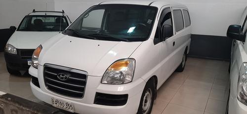 hyundai h1 2008 furgon vidrios diesel p/5 pax  u$s 12500 pta