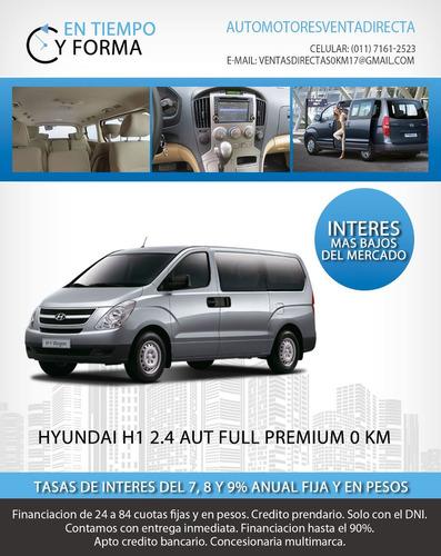 hyundai h1 2.5 full premium $96.000 y coutas