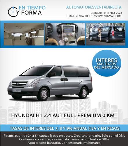 hyundai h1 2.5 full premium te la llevas por $96000 y cuotas