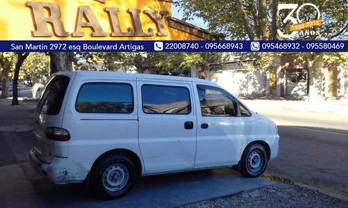 hyundai h1 diesel año 2005 furgon financio permuto