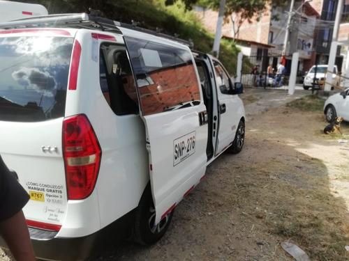 hyundai h1 para pasajeros con posibilidad de trabajo ganga