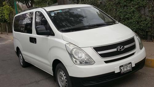 hyundai h100 2012 para 12 pasajeros en excelente estado