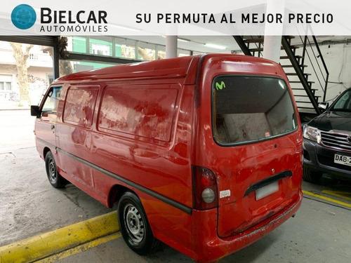 hyundai h100 furgon diesel con dh 2.5 2001 buen estado