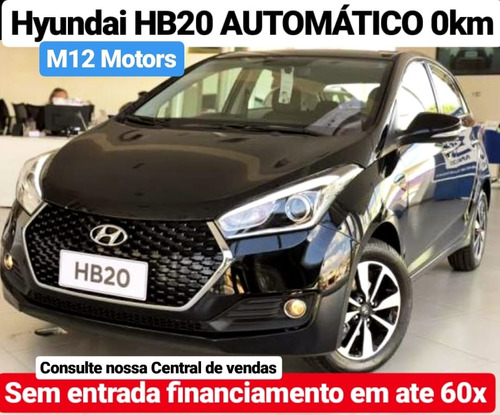 hyundai hb20 1.0 unique 0km m12  motors