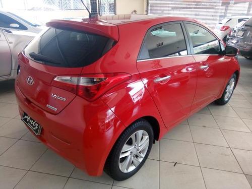 hyundai hb20 1.6 automatico premium 2015 vermelho unico dono