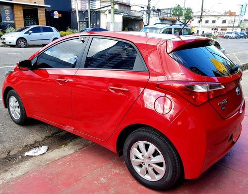hyundai hb20 1.6 comfort style 2015 automático vermelho