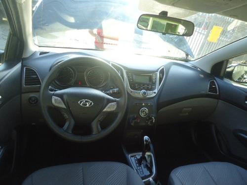 hyundai hb20 1.6 premium flex aut. 5p preto 2014