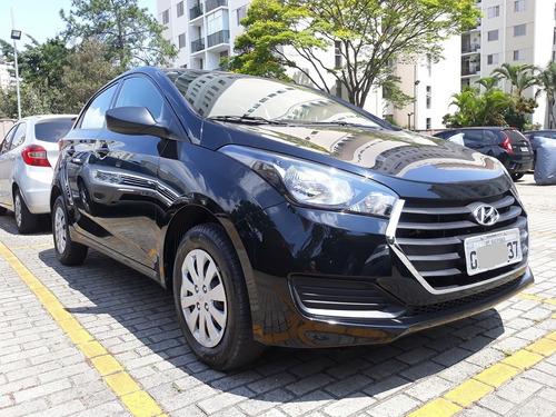 hyundai hb20 hatch 1.0 comfort 2017 preto