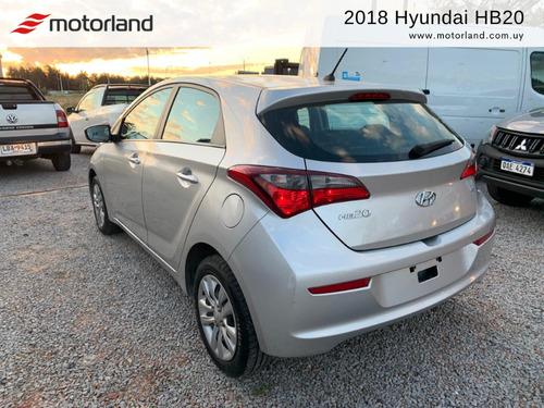 hyundai hb20 hatch 2018. financio/permuto