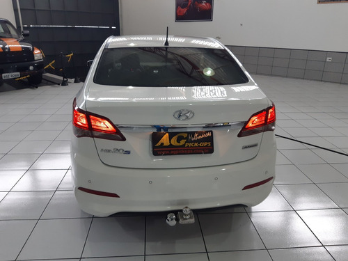 hyundai hb20 sedan premium 2016 branco 1.6 flex aut u.dono