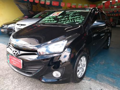 hyundai hb20s 1.6 aut multimidea gps couro revisado lindo