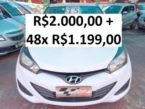 hyundai hb20s 1.6 comfort plus - r$2.000 + 48x r$1.199,00