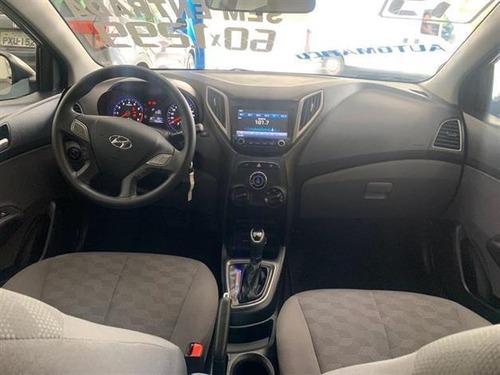 hyundai hb20s  1.6 comfort style (aut) flex automático