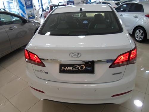 hyundai hb20s 1.6 premium flex aut. 4p+ bancos de couro