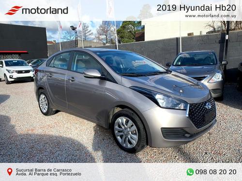 hyundai hb20s 2019. nuevo. permuto/financio