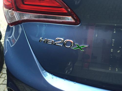 hyundai hb20x 1.6 premium automatico 17/18 0km rosati motors