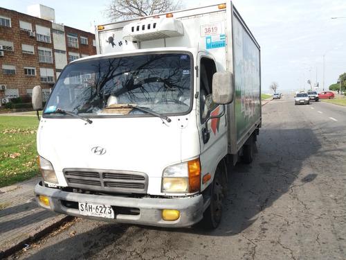 hyundai hd 65 con furgón y equipo de frío