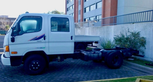 hyundai hd 65 doble cabina sin caja c/aa euro 4 0 km 2018