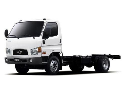 hyundai hd 78 (chassis con cabina y aire acondicionado)euro5