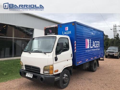hyundai hd65 furgon 1999 profesional de carga barriola