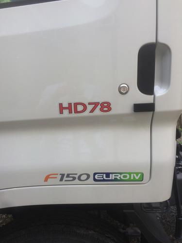 hyundai hd78 chasis con cabina y aire acond euro 4 0km 2017