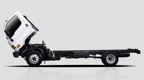 hyundai hd78 euro 4 - 2017 chasis con cabina y a/a.