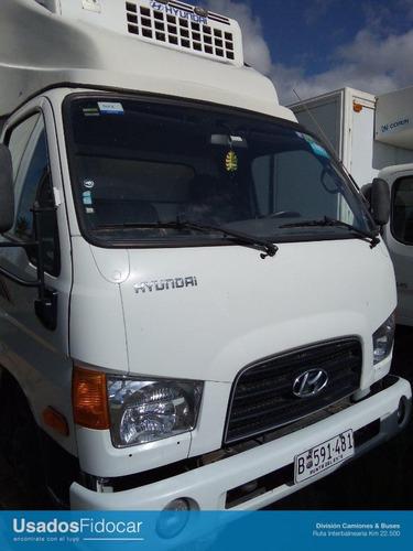hyundai hd78 furgón refrigerado dual 2018