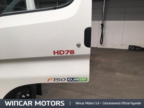 hyundai hd78 motor euro 4 0km sin  aire 2017