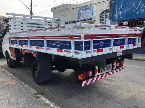 hyundai hr 2017 carroceria de madeira baixa km