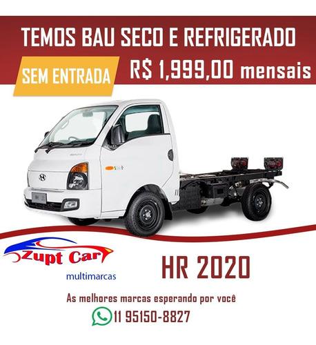 hyundai hr 2021 0 km com ar-condicionado frete bau carga