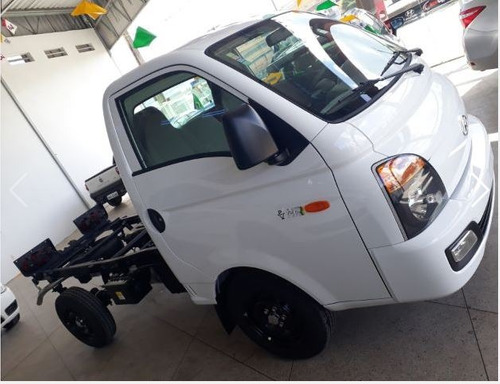 hyundai hr 2.5 hd cab. curta s/ carroceria tci 2p - branco