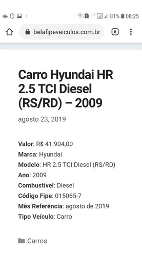 hyundai hr 2.5 tci (rs/rd)