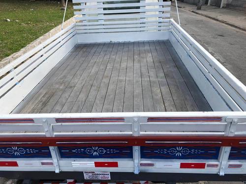 hyundai hr ano 2017 carroceria de madeira baixa km