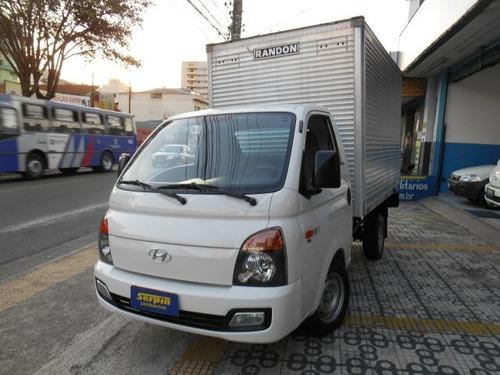 hyundai hr hd longo 4x2 com baú 2.5 turbo intercool..psd7101