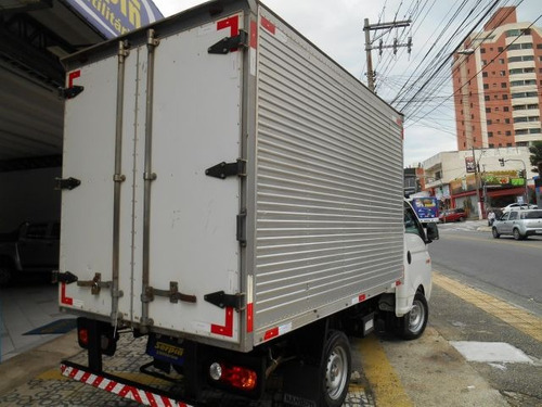 hyundai hr hd longo 4x2 com baú 2.5 turbo intercool..pse1410