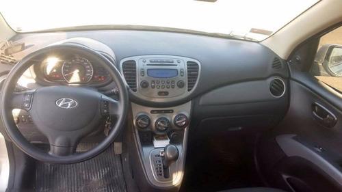 hyundai i10 1.2 gls pack seguridad 2012 gris 5 puertas