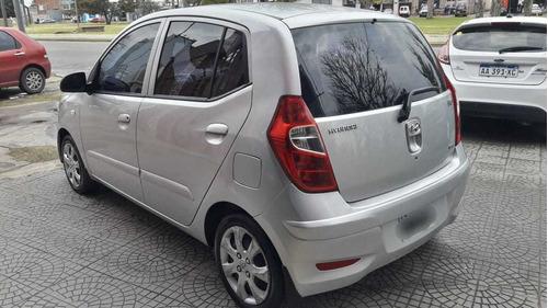 hyundai i10 1.2 gls seguridad l mt - 2012