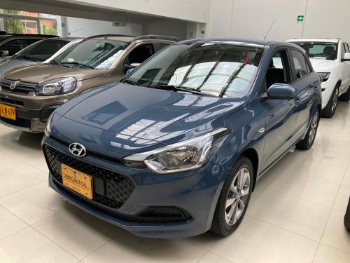 hyundai i20 mec 2018 azul