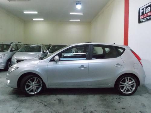 hyundai i30 gls 2010 aut completo + teto, top 10 air bag top