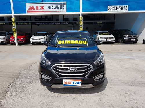 hyundai ix35 blindado 2017 automático flex oportunidade !!