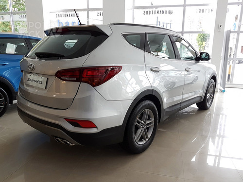 hyundai santa fe 2.4 seguridad 7as  ( 2017)