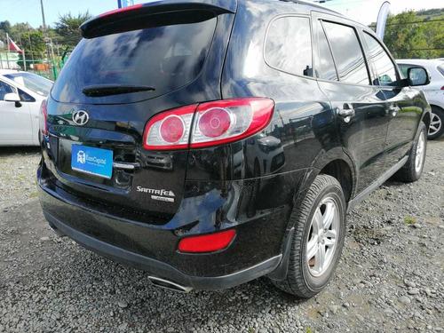 hyundai santa fe gls 2.4 at 2012 negro