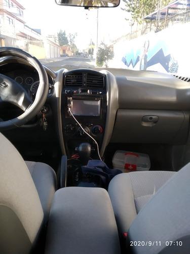 hyundai santa fe, motor 2.4, 2006, gris, 5 puertas