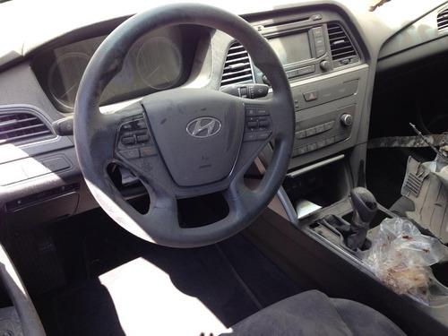 hyundai sonata 2016 2.4 hatchback en partes desarme de asegu
